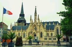 Vierkant in Frankrijk Royalty-vrije Stock Foto's