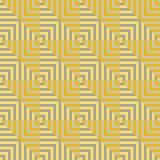 Vierkant gestreept naadloos geometrisch patroon Royalty-vrije Stock Foto