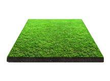 Vierkant groen gras Stock Foto's