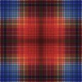 Vierkant hypnotic patroon, geometrische illusie Abstract herhaal royalty-vrije illustratie