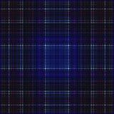 Vierkant hypnotic patroon, geometrische illusie abstracte tendens stock illustratie