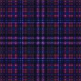 Vierkant hypnotic patroon, geometrische illusie decor vector illustratie