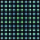 Vierkant hypnotic patroon, geometrische illusie herhaald behang stock illustratie