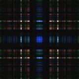 Vierkant hypnotic patroon, geometrische illusie herhaald vector illustratie