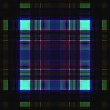 Vierkant hypnotic patroon, geometrische illusie herhaalde kunst vector illustratie