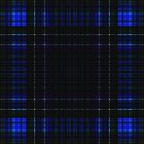 Vierkant hypnotic patroon, geometrische illusie herhaalde tegel royalty-vrije illustratie