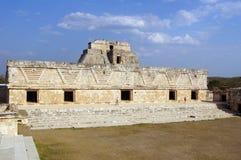 Vierkant in klooster Stock Afbeeldingen