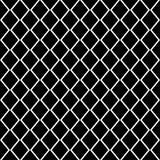 Vierkant net vector naadloos patroon Subtiele donkere geruit herhaalt achtergrond, eenvoudig ontwerp royalty-vrije illustratie