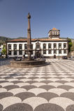 Vierkant op Madera royalty-vrije stock afbeelding