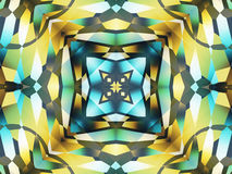 Vierkant ornament Stock Afbeeldingen