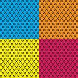 Vierkant patroon Royalty-vrije Stock Afbeeldingen