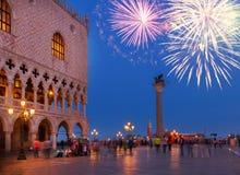 Vierkant San Marco, Venetië, Italië royalty-vrije stock afbeeldingen