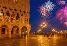 Vierkant San Marco, Venetië, Italië royalty-vrije stock foto's