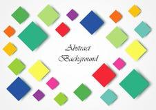 Vierkant tegels abstract achtergrondtextuureffect voorwerp Royalty-vrije Stock Foto