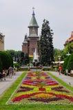 Vierkant 02, Timisoara, Roemenië van de Unie Royalty-vrije Stock Afbeeldingen