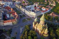 Vierkant 02, Timisoara, Roemenië van de Unie Royalty-vrije Stock Afbeelding