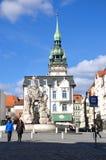 Vierkant van Brno Royalty-vrije Stock Fotografie