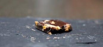 Vierkant van chocolade Royalty-vrije Stock Afbeeldingen