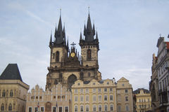 Vierkant van de Stad van Praag het Oude Royalty-vrije Stock Foto's