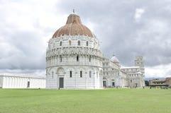 Vierkant van Mirakelen, Pisa, Italië Stock Afbeeldingen