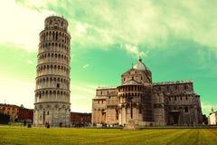 Vierkant van Mirakelen - Pisa - Toscanië Royalty-vrije Stock Afbeeldingen
