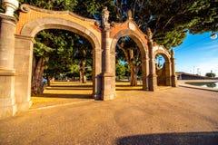 Vierkant van Spanje in Santa Cruz stock fotografie