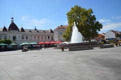 Vierkant van vrijheid op stad Tuzla Royalty-vrije Stock Foto