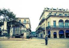 Vierkant van Wapens, Havana, Cuba Royalty-vrije Stock Afbeelding