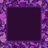 Vierkant vectorkader Stock Foto's