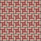 Vierkante binnen kleurrijke patroonachtergrond, naadloos Royalty-vrije Stock Foto