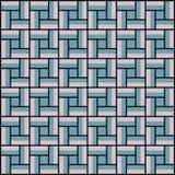 Vierkante binnen kleurrijke patroonachtergrond, naadloos Royalty-vrije Stock Fotografie