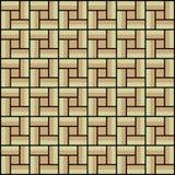 Vierkante binnen kleurrijke patroonachtergrond, naadloos Stock Foto