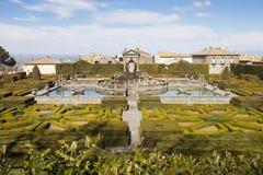 Vierkante Fontein Lazio, Italië stock foto's