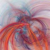 Vierkante futuristische fractal achtergrond Royalty-vrije Stock Fotografie