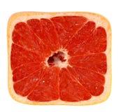 vierkante grapefruit royalty-vrije stock fotografie