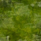 Vierkante Groene Achtergrond Grunge Royalty-vrije Stock Foto's