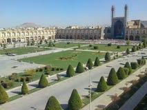 Vierkante Imam Square van naqsh-e Jahan - één van Unesco-de Plaatsen van de Werelderfenis in Isphahan Esfahan, Iran stock afbeeldingen