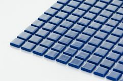 Vierkante kleine tegel royalty-vrije stock afbeelding