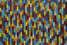 Vierkante kleurenachtergrond Stock Afbeelding