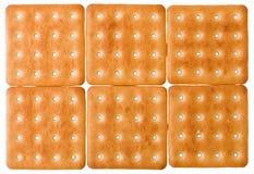 Vierkante koekjes stock fotografie