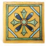 Vierkante Mexicaanse tegelvorm Stock Afbeeldingen