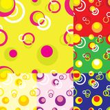 Vierkante naadloze patroonachtergrond Stock Afbeeldingen