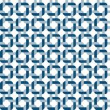 Vierkante patroon Naadloze Vector Royalty-vrije Stock Foto's