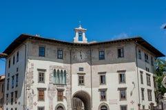 Vierkante ridders Pisa Stock Fotografie