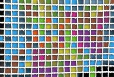 Vierkante samenvatting Stock Afbeelding