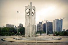 Vierkante standaardmandarin van de Weifangvlieger eend Stock Foto