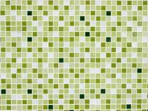 Vierkante tegelmuur Stock Fotografie