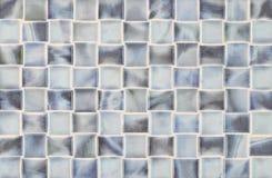 Vierkante tegels in blauw marmer Royalty-vrije Stock Afbeeldingen