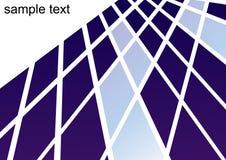 Vierkante theorievecto als achtergrond Stock Fotografie