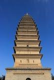 Vierkante toren Royalty-vrije Stock Afbeeldingen